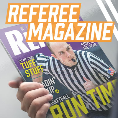 Referee Magazine - Get A Free No Obligation Issue Of Refere