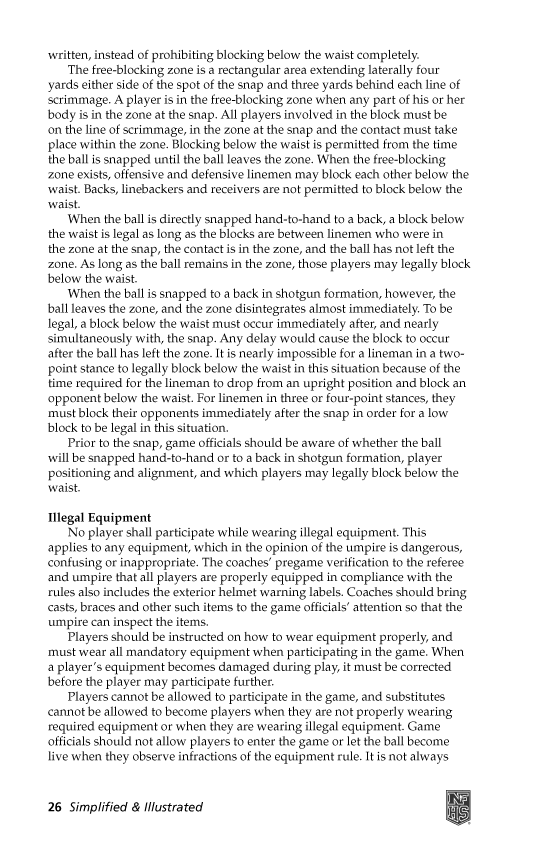 2015-NFHS-High-School-Football-Rules-Simplifed-Illustrated-Page-07