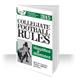 CCA Collegiate Football Rules: Simplified & Illustrated