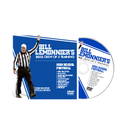 Bill LeMonnier's 2015 Crew of 5 Training: High School Football DVD
