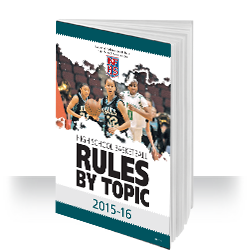 2015-16 NFHS Basketball Rules by Topic