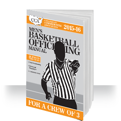 2015-15 CCA Men's Basketball Officiating Manual