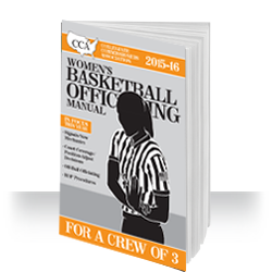 2015-16 CCA Women's Basketball Officiating Manual