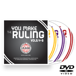 IAABO You Make The Ruling: Volumes 4, 5 & 6 DVD Set
