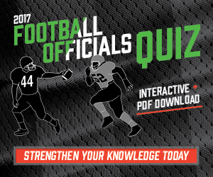 Football 2017 – 2017 Football Officials Quiz (300px x 250px)