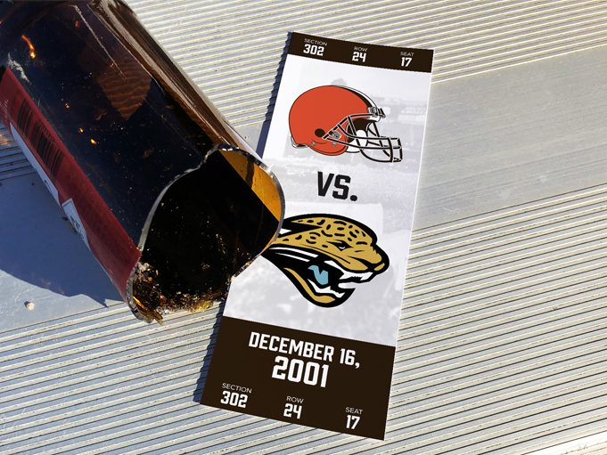 Mayhem In Cleveland Browns Vs Jaguars Dec 16 2001