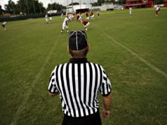 football line judge