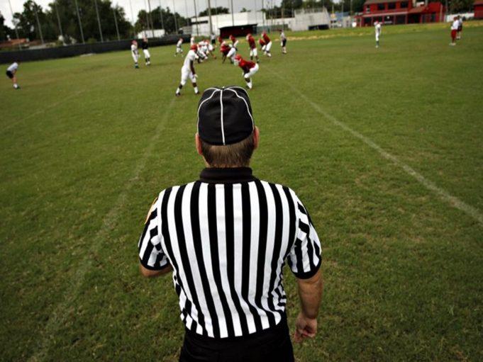 football line judge