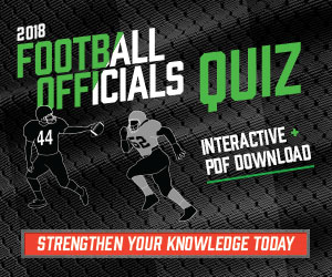 Football 2018 – 2018 Football Officials Quiz (300px x 250px)