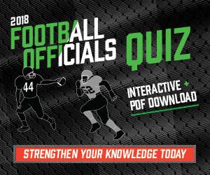 Football 2018 – 2018 Football Officials Quiz (300px x 250px)