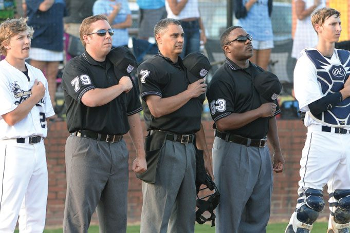 Baseball Umpire Larger Crew