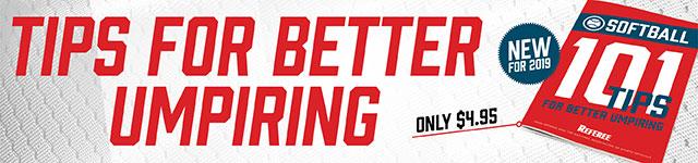 101 Tips For Better Softball Umpiring