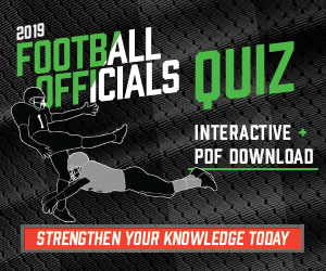 Football 2019 – 2019 Football Officials Quiz (300px x 250px)