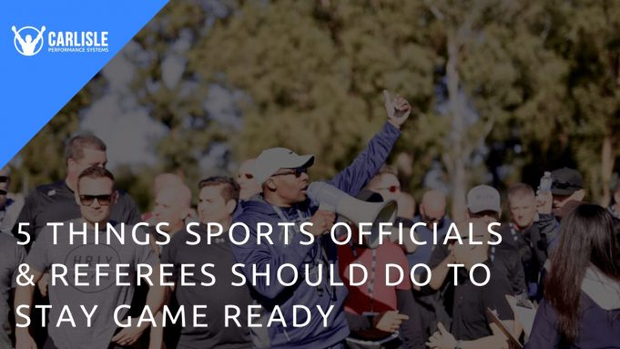 coach duane carlisle with NFL officials