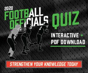 Football 2020 – 2020 Football Officials Quiz (300px x 250px)