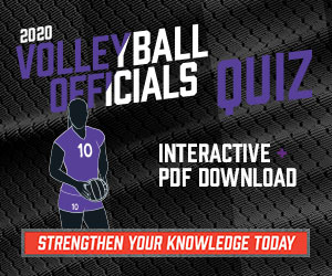 2019 Volleyball Officials Quiz (300px x 250px)