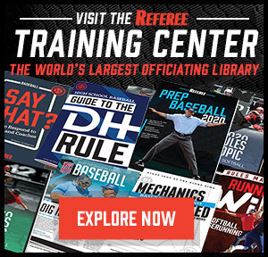 Referee Training Center AD – Sidebar (300px x 288px)