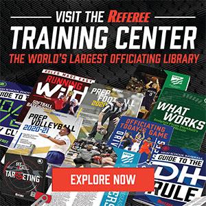 Referee Training Center AD – June 2020 Sidebar (300px x 288px)