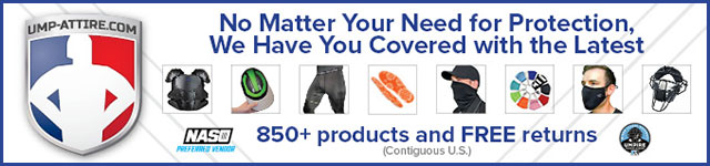 General Advertisement – Ump-Attire.com (Homepage & Secondary Pages)