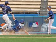 umpiring calling baseball double plays