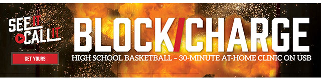 Sports-Basketball Interrupter – Block/Charge: See It, Call It Video Guide (640px x 150px)